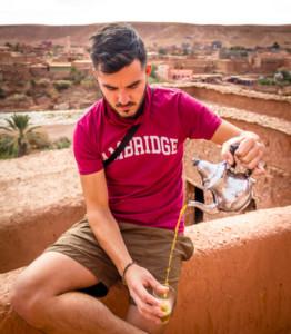 Tea, morocco, ait ben haddou, berber whiskey