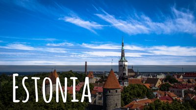link to all our posts about backpacking in Estonia