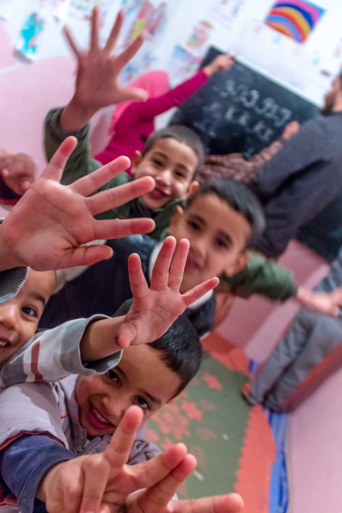morocco, volunteering, kids, out of control