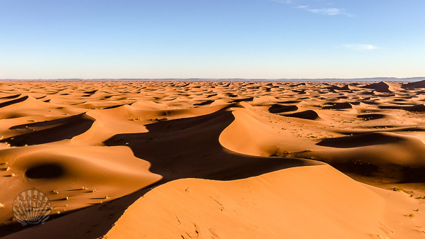 Sand dunes of the Sahara Morocco