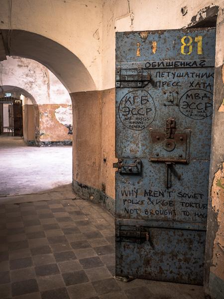 Patarei Prison Cell Door