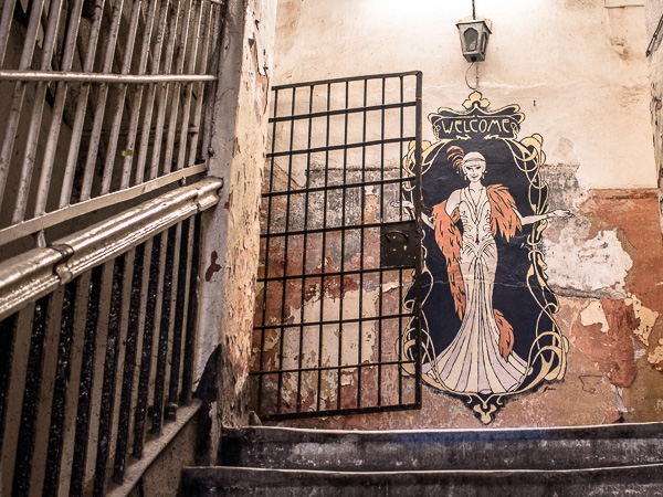 Patarei Prison Enterance Graffitti
