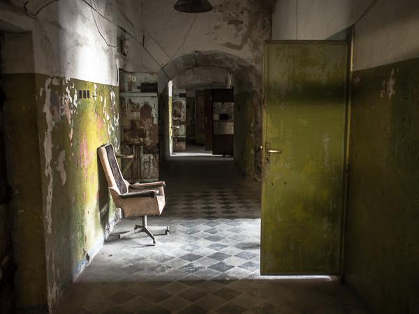 Patarei Prison Hallway Chair