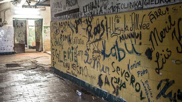 Patarei Prison Graffitti