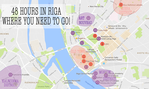 What To Do With Hours In Riga Guide Rucksack Ramblings - Old riga map