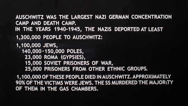 A staggering number of deaths occured in Auschwitz
