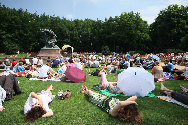 Free Chopin concert warsaw guide