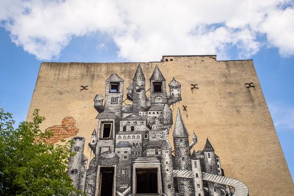 Street art Praga warsaw guide