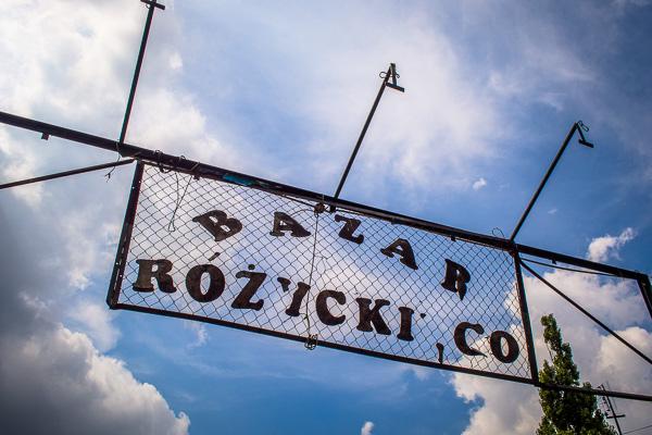 Bazar Rozycki Warsaw guide