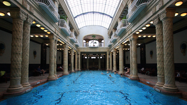 Budapest Bath Houses Gellert bathhouse