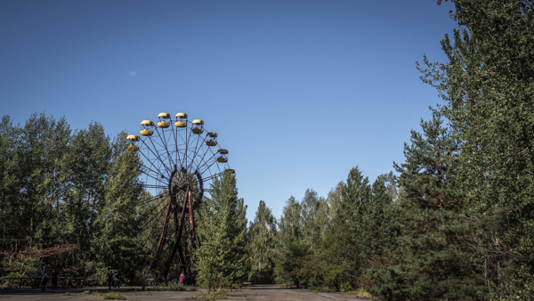 ferris wheel in pripyat chernobyl tours