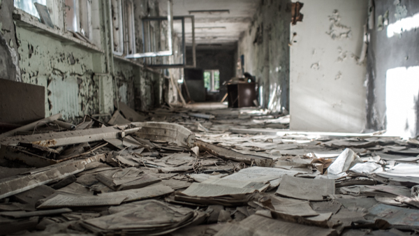 Pripyat high school chernobyl