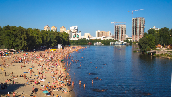 things to do in kiev Hydropark beaches