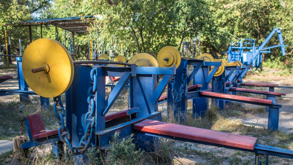 things to do in kiev Kachalka Outdoor Gym