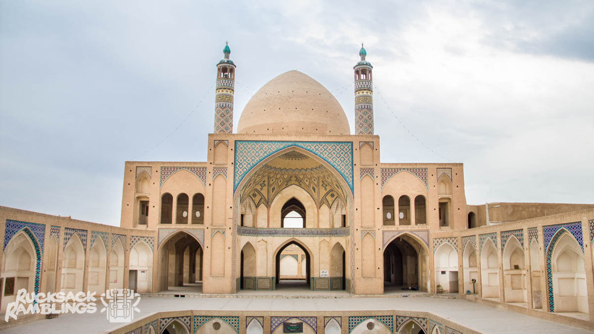 Agha Bozorg Mosque in Kashan