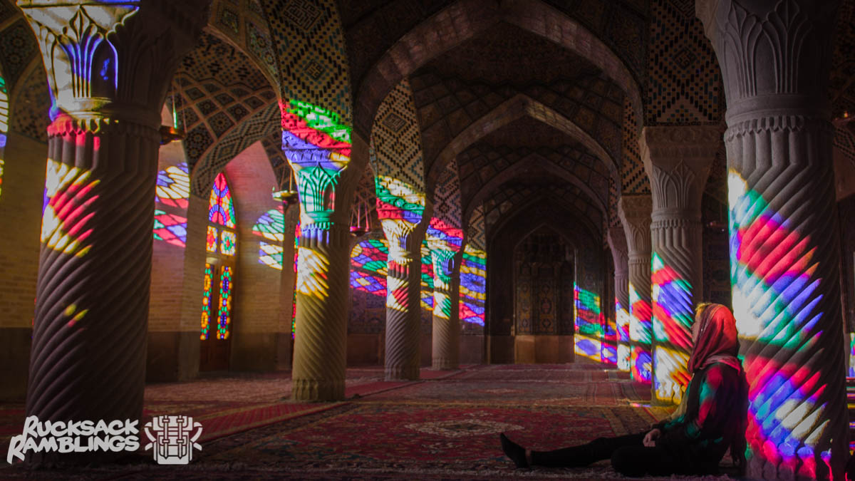 Visiting this mosque in Shiraz will be one of the first things you'll do after getting your Iranian visa on arrival