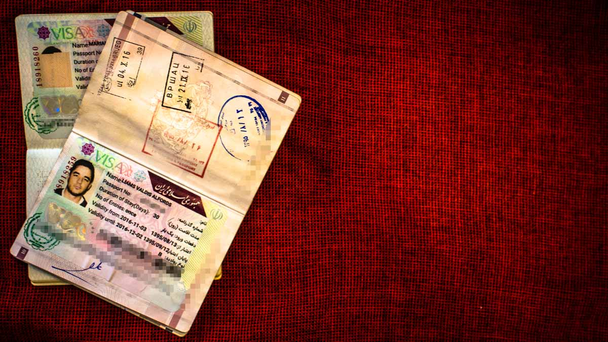 how to get the iranian visa on arrival (voa) - it's easy as pie!