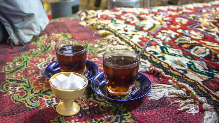 Chai tea a traditional iranian drink