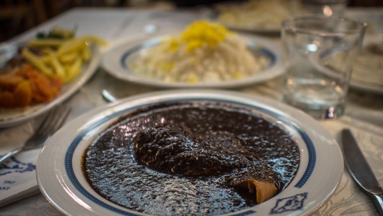 Fesenjan a traditional iranian food
