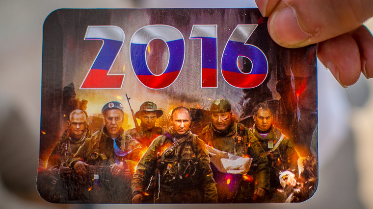 Transnistria calendar with Russian leaders on it