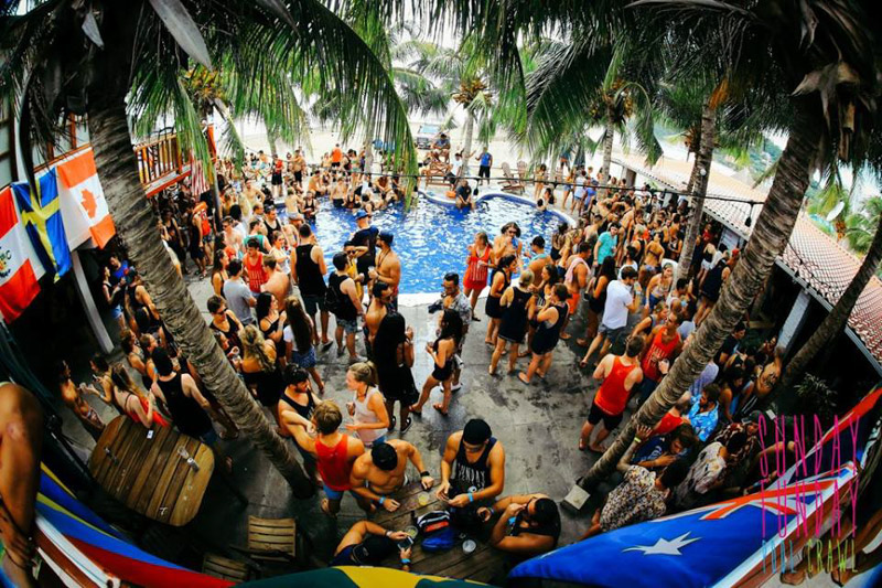 Sunday Funday in San Juan Del Sur is one of the best places to party in central america