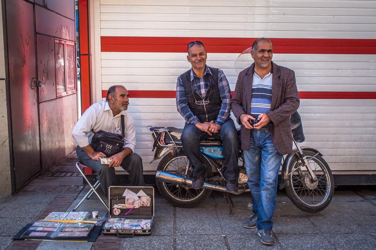 Black Market Money Exchange Shiraz