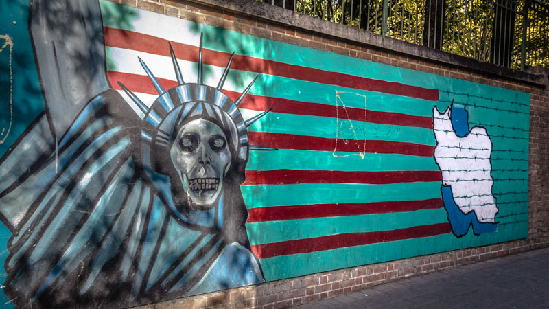 Visiting the American Embassy is one of the best things to do in Tehran