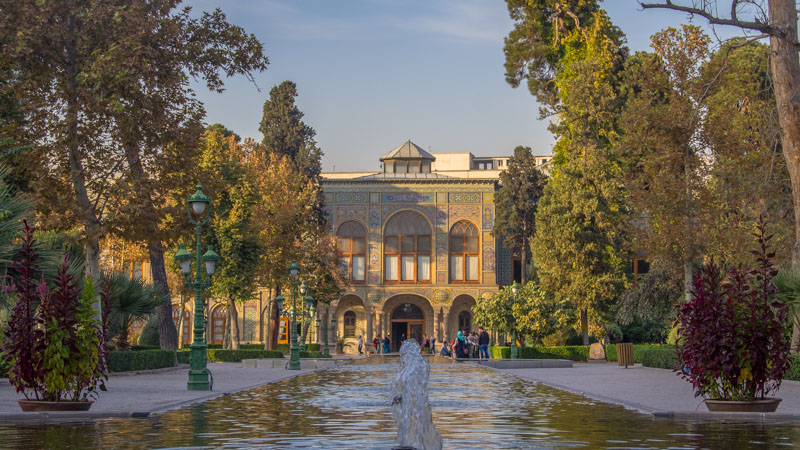Visiting the Golestan Place is a must as it's one of the best things to do in Tehran