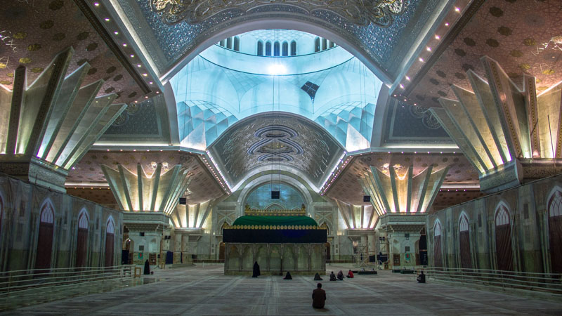 Visiting Imam Khomeini's Mausoleum is one of the best things to do in Tehran