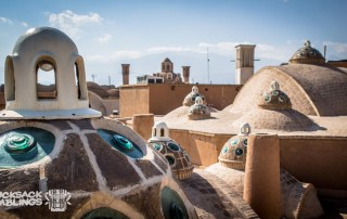 Sultan Amir Ahmad bathhouse roof in Kashan