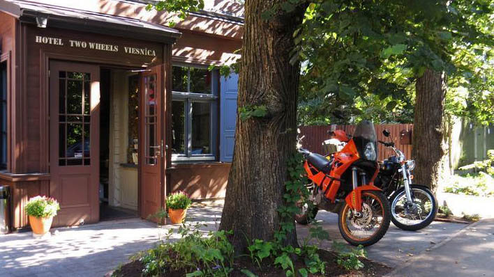 two wheels is one of the best hostels in riga