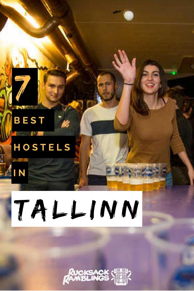 Pinterest Image for the best hostel in Riga