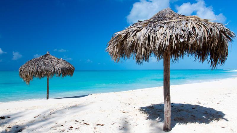 paradise beach in Cuba